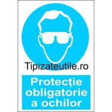 """Indicator""""Protectie obligatorie a ochilor"""""""