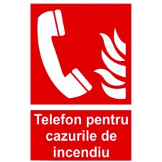 "Indicator""Telefon in caz de incendiu"""