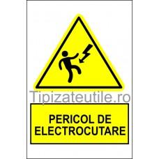 """Indicator""""Pericol de electrocutare"""""""