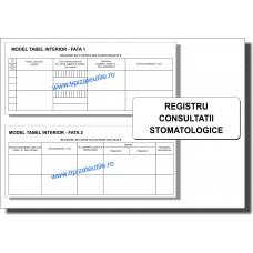 Registru Consultatii Stomatologice - model 1