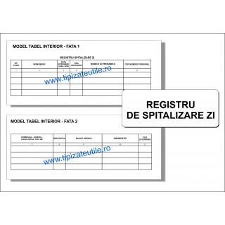 Registru de spitalizare zi
