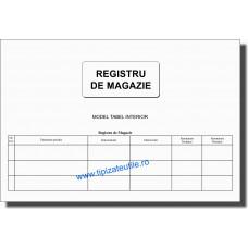 Registru de magazie - 100 file
