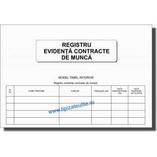 Registru evidenta contracte de munca - 100 file