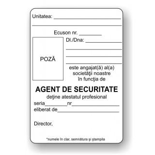 Ecuson Agent de Securitate
