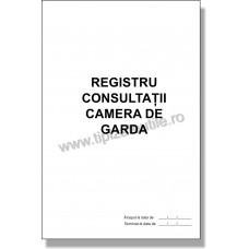 Registru Consultatii Cameră de Garda