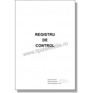 Registru de Control - 100 file / 50 file / 25 file