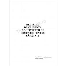 Registru de evidenta a activitatii de educatie pentru sanatate
