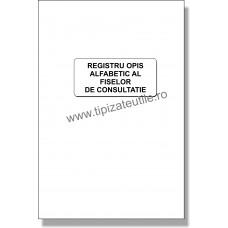 Registru opis alfabetic al fiselor de consultatie