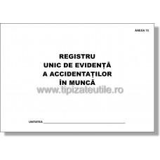 Registru unic de evidenta a accidentatilor in munca - Anexa 15
