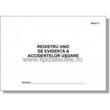 Registru unic de evidenta a accidentelor usoare - Anexa 17