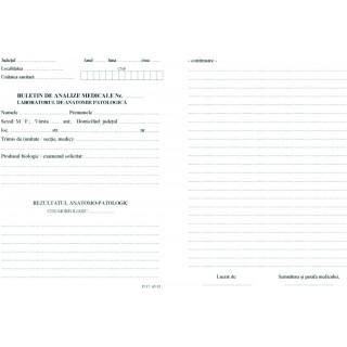Buletin de analize medicale - anatomie patologica
