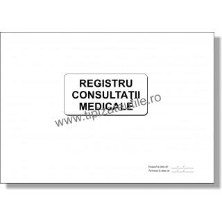 Registru Consultatii Medicale - model 1