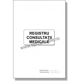 Registru Consultatii Medicale PORTRET - model 2