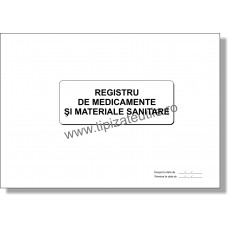Registru de medicamente si materiale sanitare