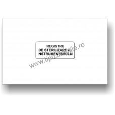 Registru de Sterilizare a Instrumentarului Medical